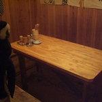 串焼き 猿 - 半個室みたいなテーブルも!みんなでワイワイ~