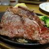 ステーキのどん - 料理写真:熟成リブロインステーキ(ステーキメニュー原則パンライススープバー付き150g税抜き1,999円)