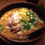 つなぎ - 味噌ラーメン(750円)