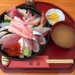 鯛喜 - 海鮮丼ちょっと豪華