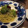 タパス&タパス - 料理写真:シーフードのジェノベーゼソーススパゲティ ¥1000-