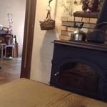 せもりな無何有の郷 - 店内/暖炉があります