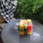 ジンナンカフェ - なんて夏らしい一品!!