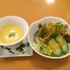 mondo - 料理写真:ランチセットのサラダとスープ