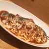 カレーや うえの - 料理写真:完熟トマトのチキンカレー炙りチーズのせ ¥850