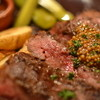 ガウディ イ・コルネ - 料理写真:牛ランプ肉の鉄板焼き