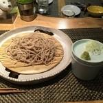 蕎麦瑠 呑楽人 - せいろそば750円