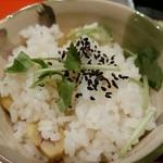 瓢箪坂 おいしんぼ - 栗の炊き込みご飯