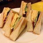 coffee shop KAKO  - サンドイッチ ミックス