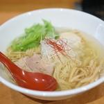 麺屋 翔 - 香彩鶏だし 味玉塩らーめん