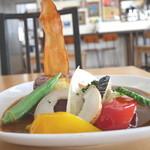 島野菜カフェ Re:Hellow BEACH - 島果実カレー