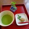 Cafe&gallary 楠 - 料理写真:抹茶(和菓子付)