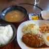 焼肉レスト ふじむら - 料理写真:ハンバーグセット