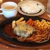 葡蘭馳 - 料理写真:チーズハンバーグ定食(\1,050)