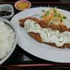 うみかじ食堂 - 料理写真:'15年9月 南蛮カツ定食・790円