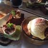 walet - 料理写真:デザート3種盛り♩オレオアイスケーキ、ブラウニーケーキ、カフェオレミルクプリン