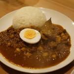 オカノカリー - ひよこ豆のスパイシーラム肉キーマカレー