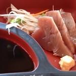 スエヒロ - 「日替り和風ランチ」(税込1058円)の鰹刺身