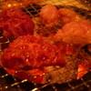 なかむら - 料理写真:左側ハラミ、右側Wホルモン。