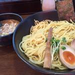 TOKYO 鶏そば TOMO - 鶏濃厚魚介つけ麺 大盛り