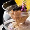 ラトリエ ドゥ ジョエル・ロブション - 料理写真:サーモンのタルタル 花穂を添え キャビアをあしらって