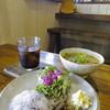 Soi - 料理写真:県産豚のスパイシーイエローココナッツカレー