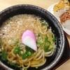 麺処 河萬 - 料理写真:すうどんおにぎりセット」(400円)