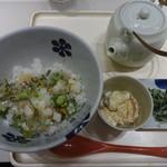 えん - 刻み菜漬けのぶぶだし茶漬け:490円