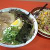 清陽軒 - 料理写真:「ラーメン+焼めし(小)」のセット。
