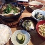椿 - 料理写真:山形芋煮定食