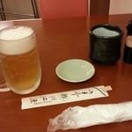 二葉すし - 生ビール♪