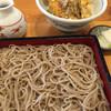 蕎麦屋 慶徳 - 料理写真:せいろ、小天丼