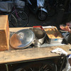 吉備子屋 - 料理写真:きびだんごを注文すると釜のお湯で温めてきなこをつけてくれます