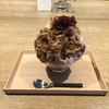 古美珈琲 - 料理写真:エスプレッソ練乳と小豆(850円)