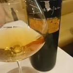 カルネヴィーノ - 白は、熟成の進んだものも、ブランデーみたく美味しい。