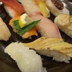 くろしお回転寿司 - ランチセット1000円