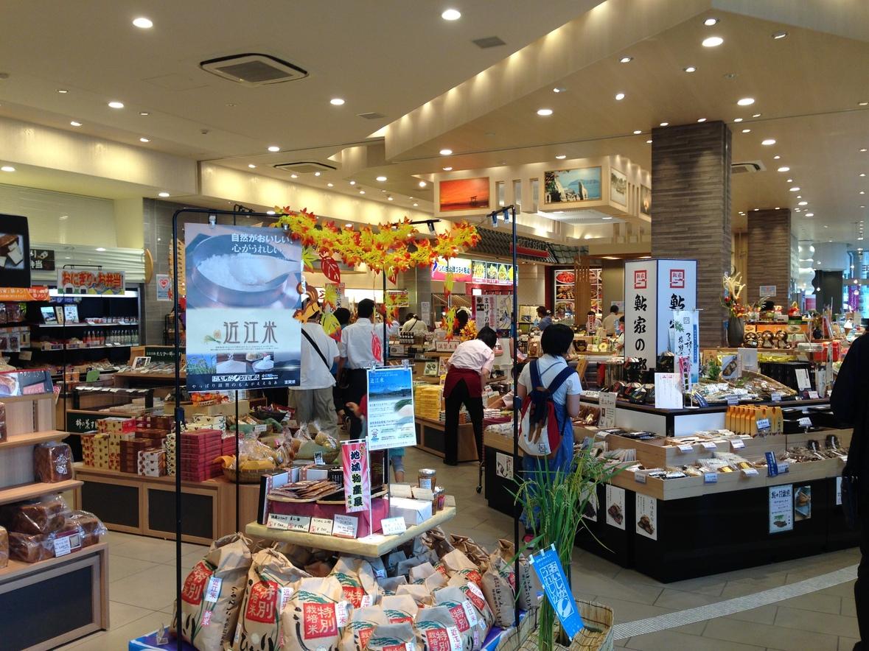 大津サービスエリア下り線ショッピングコーナー