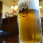 金太郎焼肉 - ドリンク写真:生ビール中¥500