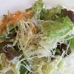 カレー風味すずき - ランチサラダ