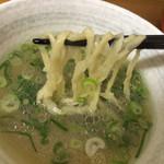 のぉくれ - つけ汁からの麺リフト〜(*^◯^*)