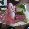 旅荘 美山 - 料理写真:刺身盛合せ 最後の夜サービス