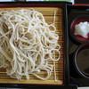 飯豊とそばの里センター そば伝承館 - 料理写真:伝承そば 900円 薬味は辛味大根