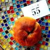 しげくに屋55ベーカリー - 料理写真:アップルジンジャーベーグル