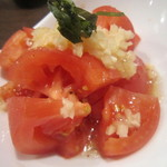 やきとり家すみれ - すみれの冷しトマト