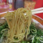 もっこす - 焼きめしセットの中華そば、今回は麺硬めでの注文