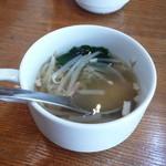 BISTRO 川崎CITTAスタンド - スープと書かれていましたがみそ汁でした