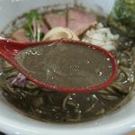 天夢 - 鬼濃度の煮干100%のスープ
