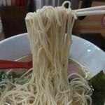天夢 - ザラパツ系・中細ストレート麺