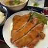 味処 山頭火 - 料理写真:BIGチキンカツ定食
