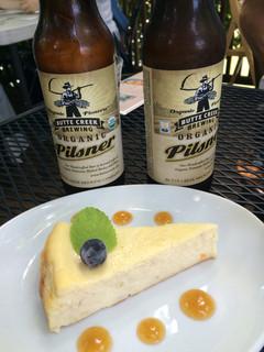 阿里山cafe - ベイクドバナナチーズケーキ